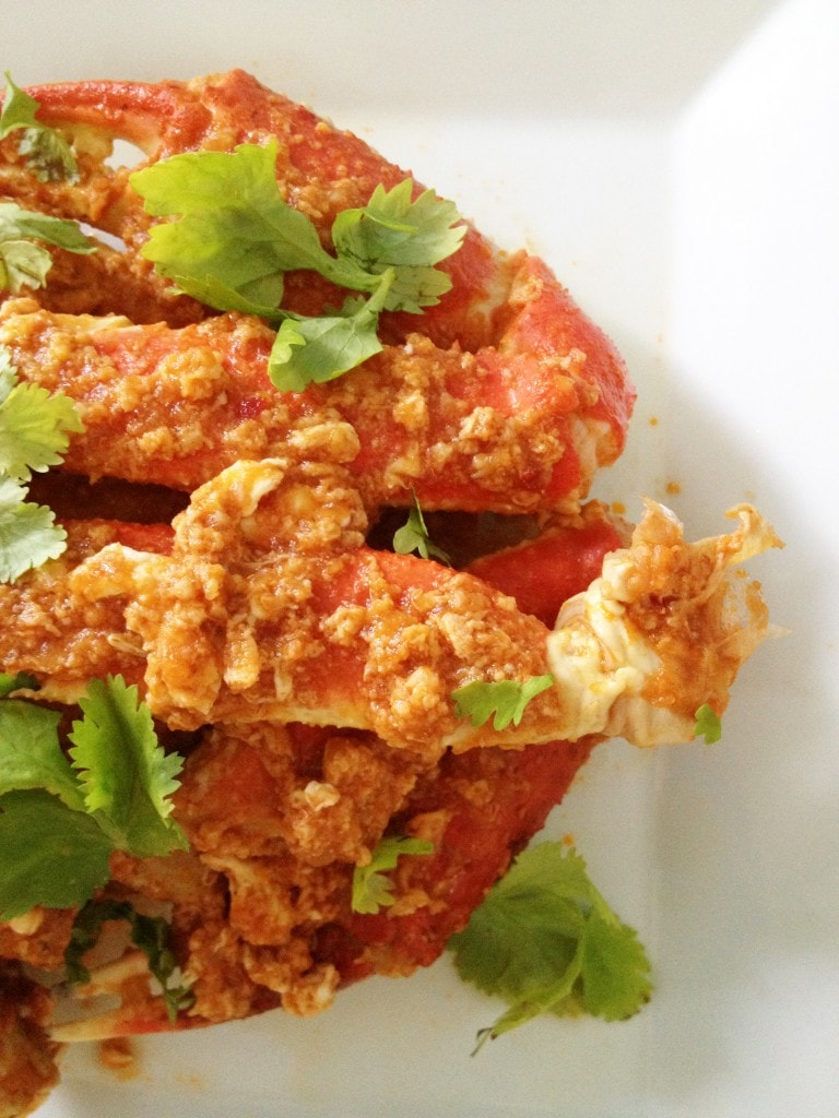 how to make singapore chilli crab