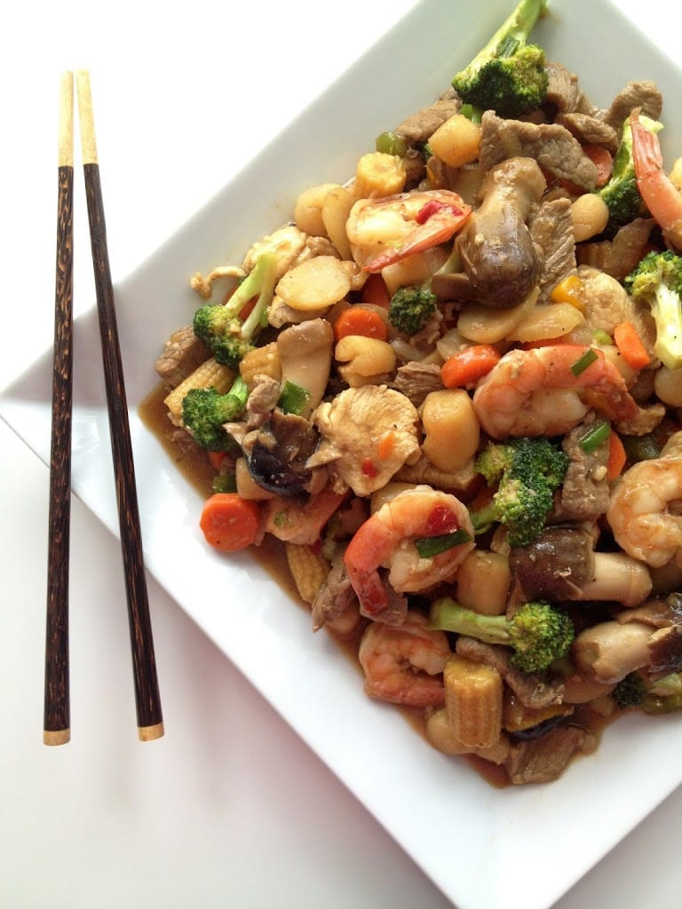Happy Family Stir-Fry - The Cooking Jar
