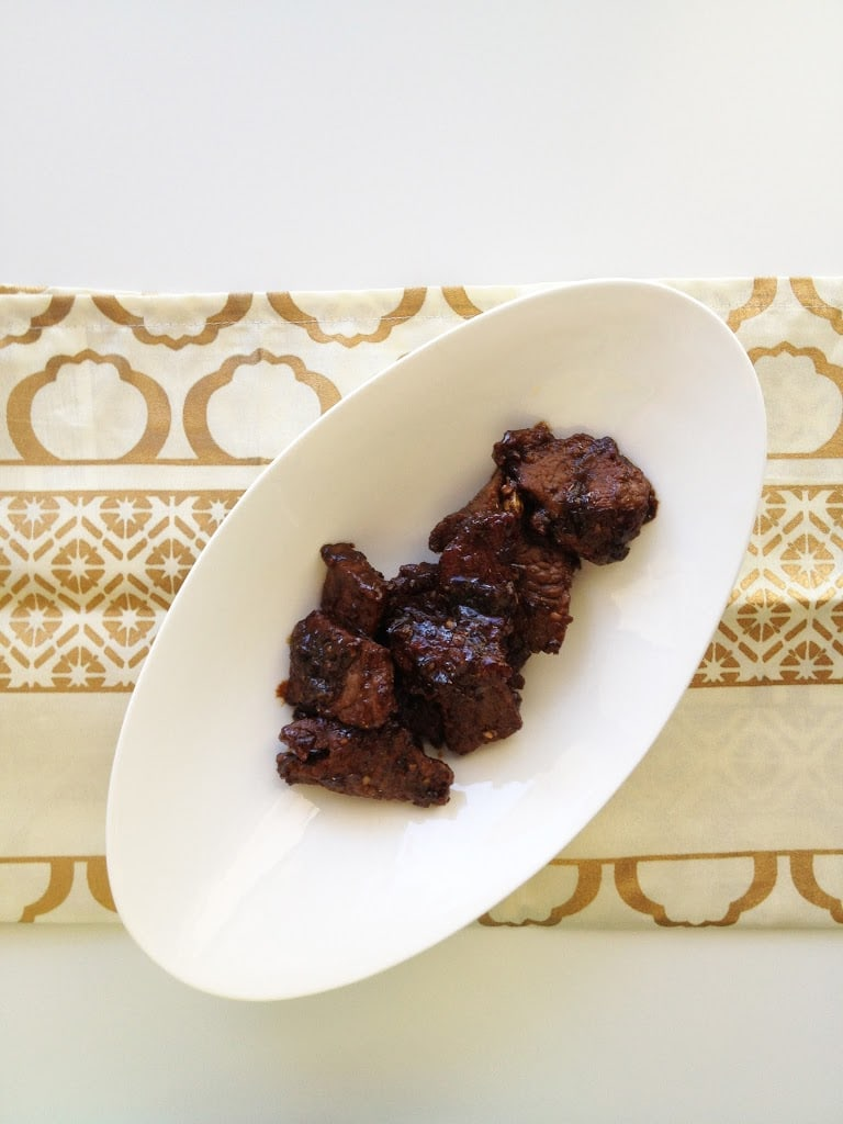 Sweet Black Beef (Daging Masak Hitam)