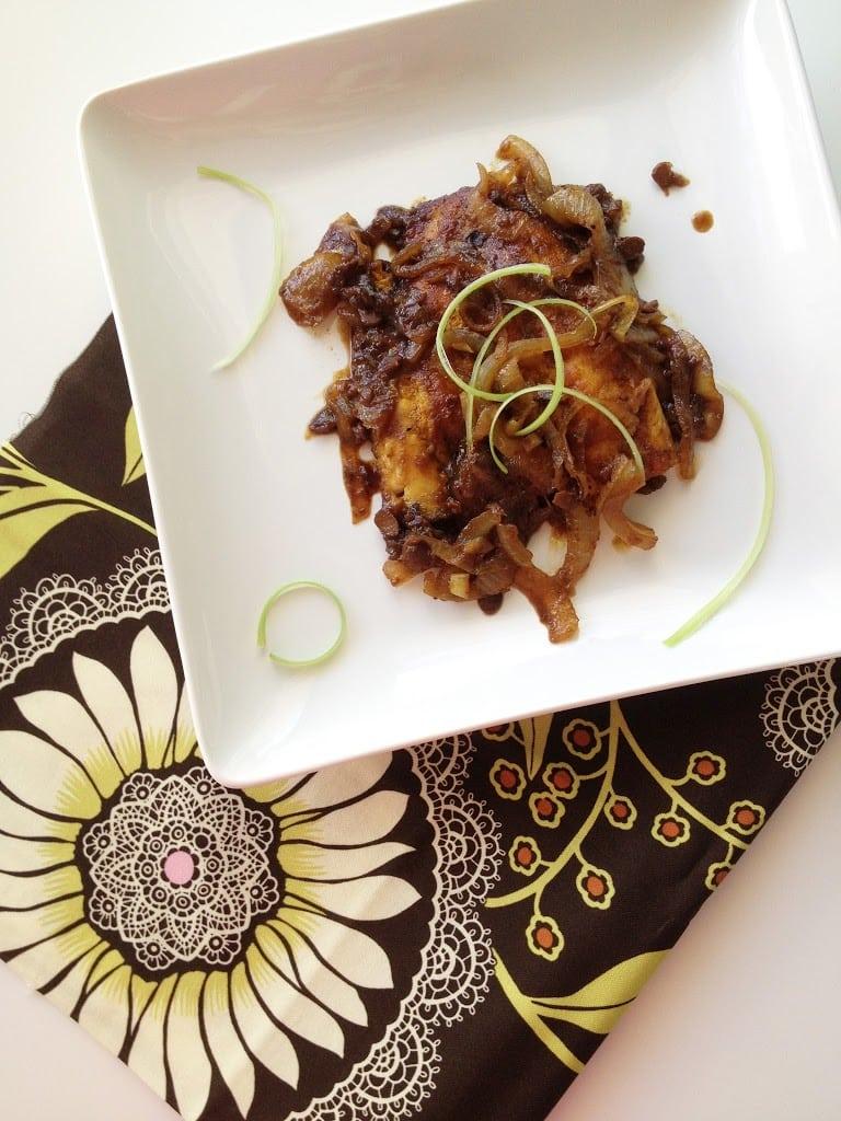 Salted Soybean Fish (Tauchu Fish)