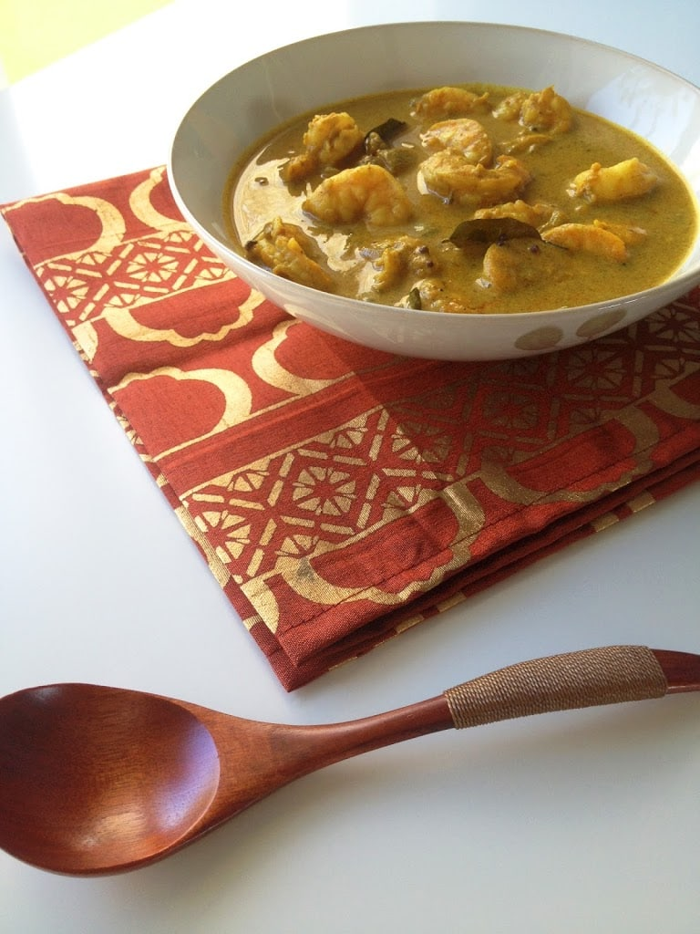 Kerala Shrimp Curry