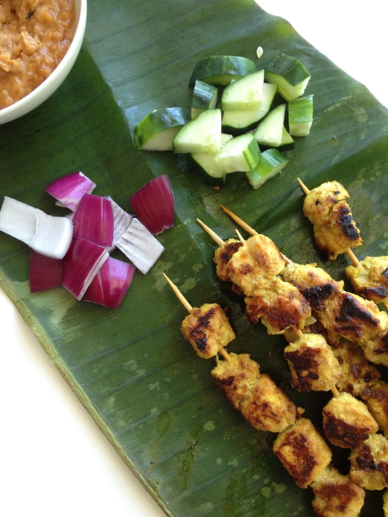 Authentic Chicken Satay