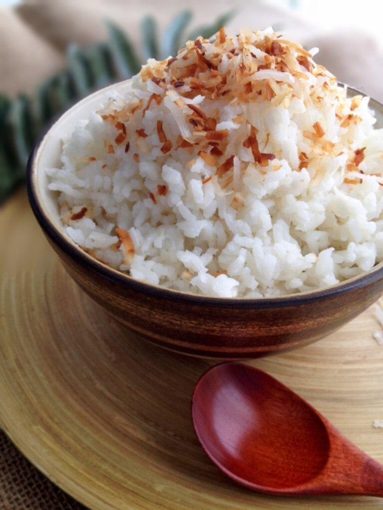 Easy Coconut Rice