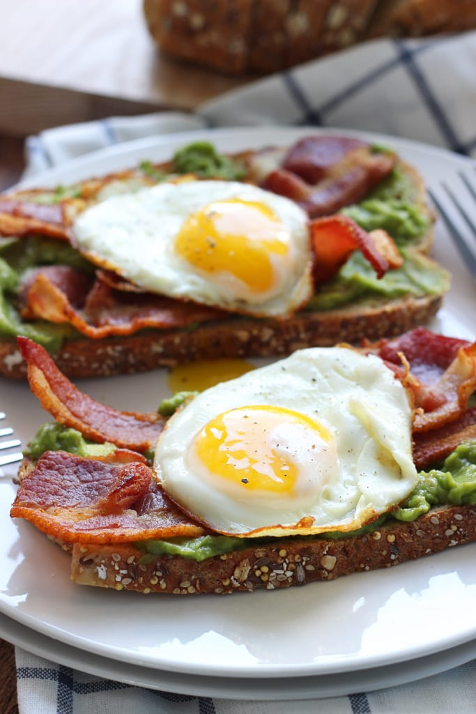 This open-faced breakfast sandwich is a quick and easy fix for ...