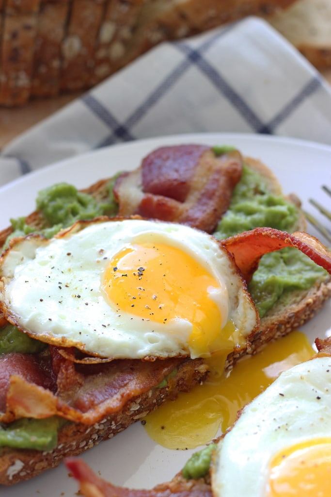 sauce open faced egg bacon watercress sandwich open faced egg sandwich ...