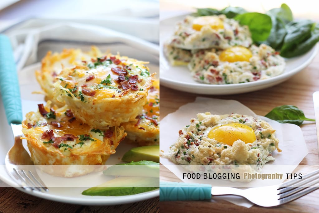 Food blogging photography tips
