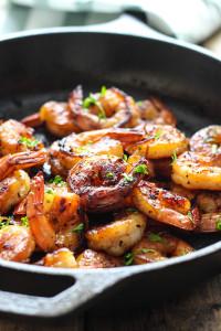 Honey Garlic Shrimp Skillet The Cooking Jar