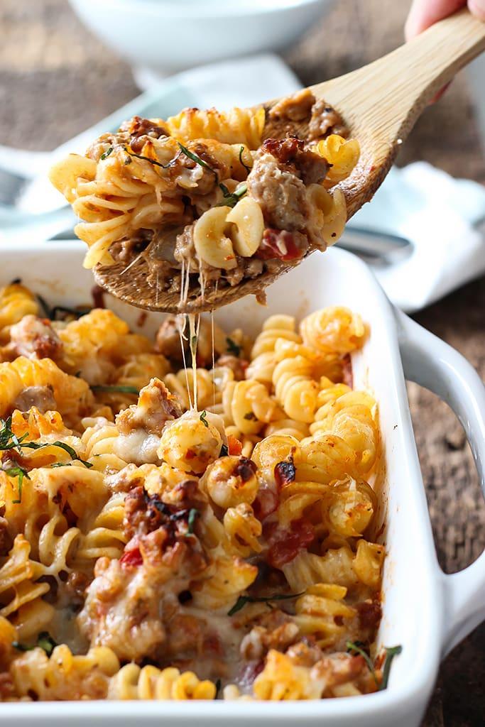Baked pasta recipes italian sausage