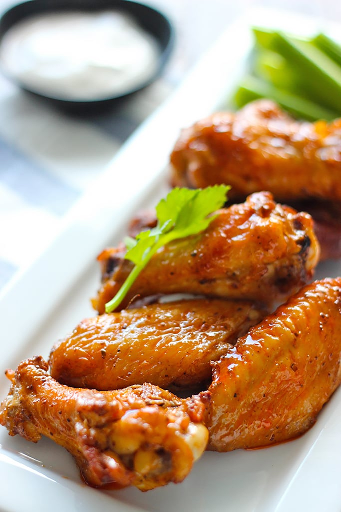 These oven-baked Old Bay buffalo wings are truly delicious. An easy recipe to make some buffalo wings at home!