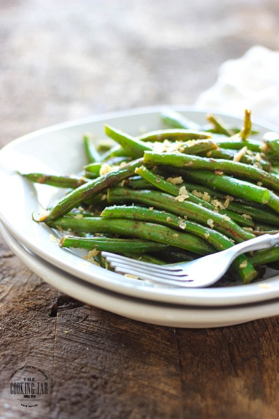 how to cook green beans from a jar