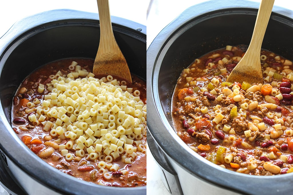 baked beans and pasta soup
